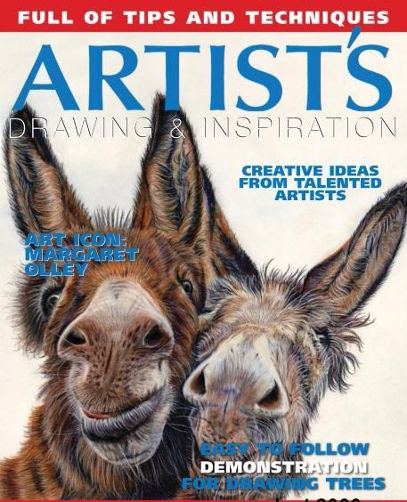 Artists Drawing Inspiration Issue 25 2017