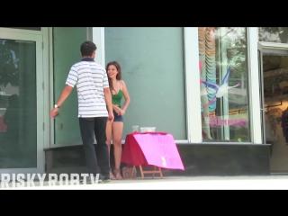 Hot girl vs homeless man! (social experiment) youtube [720p]