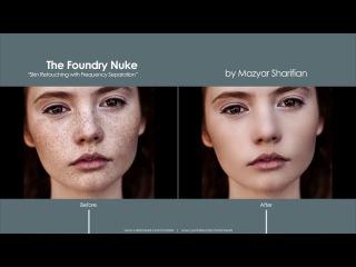 Skin Retouching in Nuke using Frequency Separation