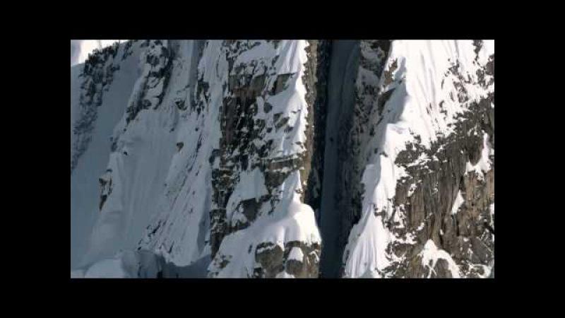Discesa incredibile con gli sci ESTREMO