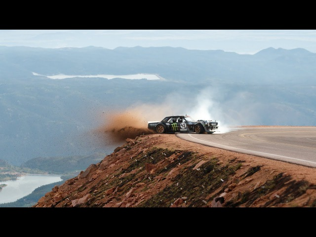 TOYO TIRES Ken Block's Climbkhana Pikes Peak Featuring the Hoonicorn V2