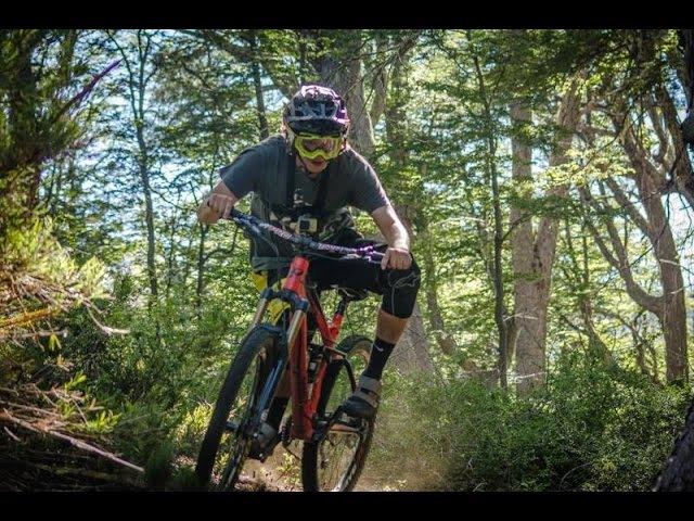 Trails Mountain Bike Nevados De Chillan ENDURO MTB Crash
