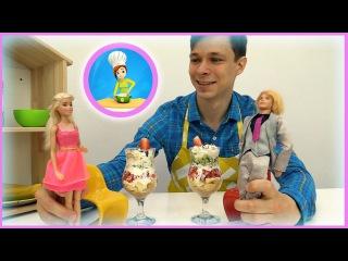 video e cartoni animati: Federico e Scoop salvano l'appuntamento di Ken con Barbie