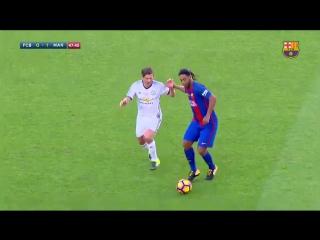 """Роналдинью сегодня снова вышел на поле в форме """"Барсы"""". И он в полном порядке"""