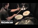 Meinl 18 Byzance Medium Thin Crash Cymbal Brilliant by Thomas Lang (B18MTCB-1050610X)