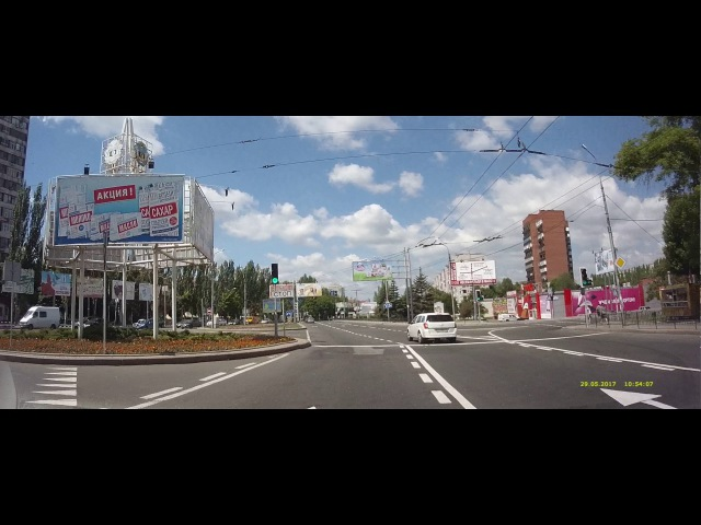 Донецк 2017-05: пр.Ильича – ул.Постышева