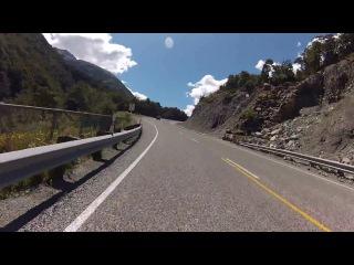 Arthur's Pass part 2 - South Island Motorcycle Tour 06-02-16  - Honda ST1300