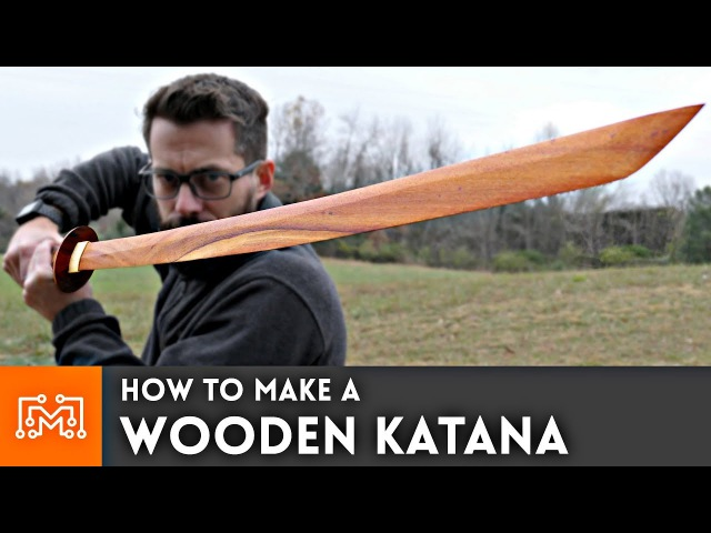 How to make a Wooden Katana from hardwood flooring Woodworking
