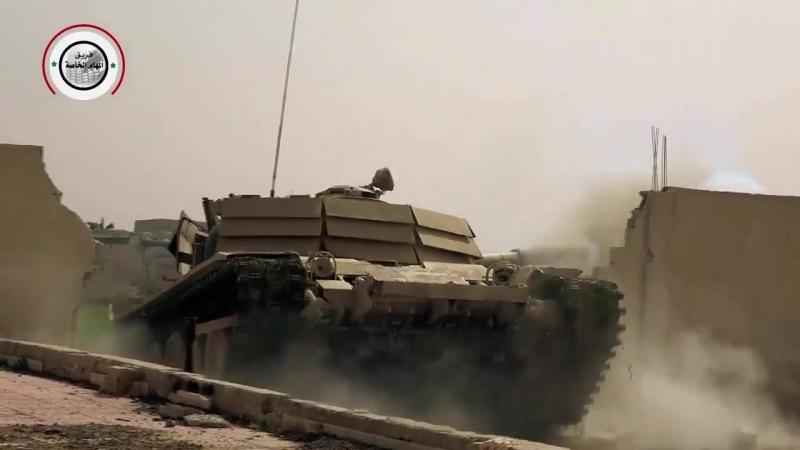 Тигры Сухейля Взламывают оборону боевиков в Восточной Гуте mp4