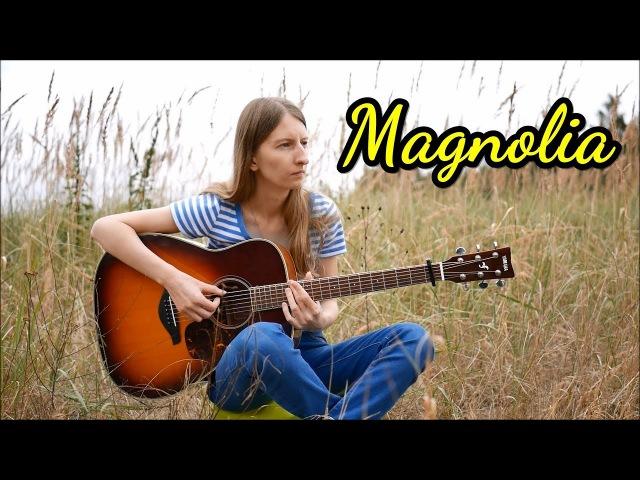 Martin Tallstrom Magnolia Fingerstyle Guitar Cover Marzena Pieśkiewicz