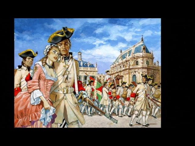 Marche militaire française de l'ancien régime Danse de village