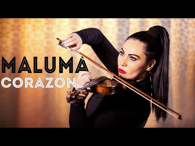 Maluma Corazón Violin Cover Cristina Kiseleff ft. Nego do Borel