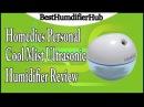 Homedics Personal Cool Mist Ultrasonic Humidifier Review