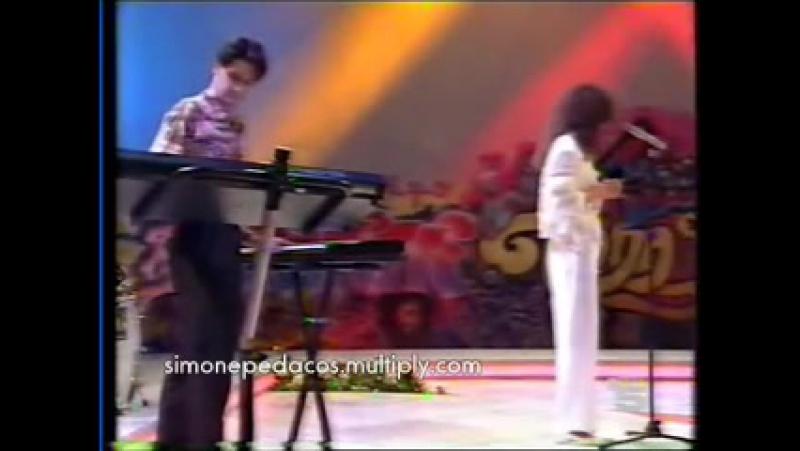 Simone PROCURO OLVIDARTE - Tele5 - Espanha - 1991 - DASH