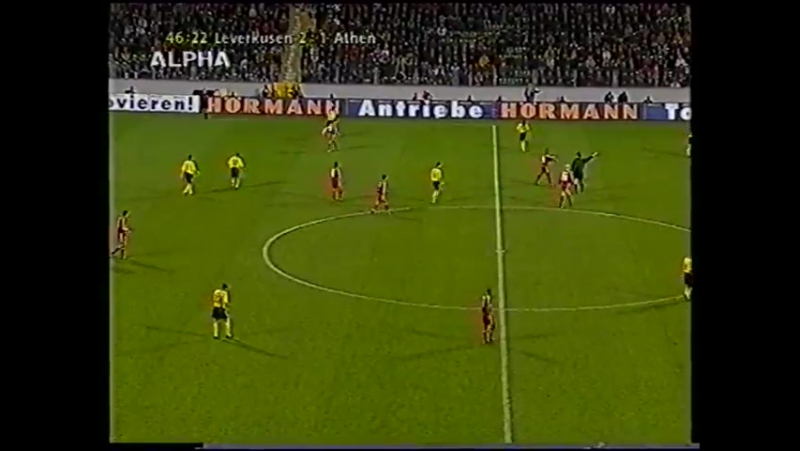 232 UC-2000/2001 Bayer Leverkusen - AEK Athen 4:4 (23.11.2000) FULL