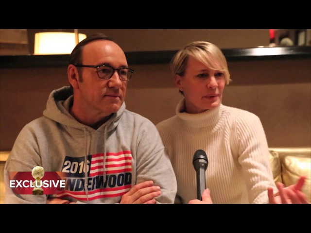 Visiting with the Underwoods from House of Cards HFPA Exclusive