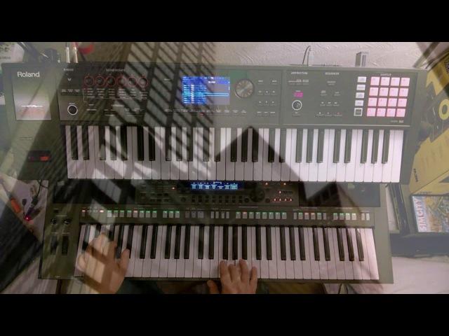 Jan Hammer Crockett's Theme Yamaha PSR S770 Roland FA06