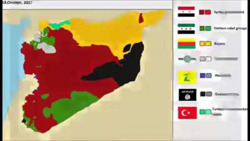 Сирия 2011 2017