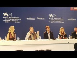 mother! (2017) Venice press conference, Jennifer Lawrence, Darren Aronofsky, Michelle Pfeiffer