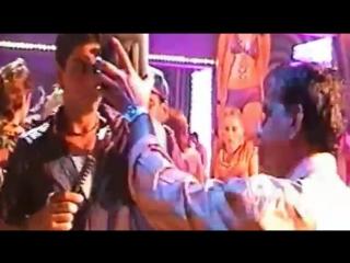 Shah rukh khan, saif ali khan and preity zinta making of its the time to disco _ amateur video