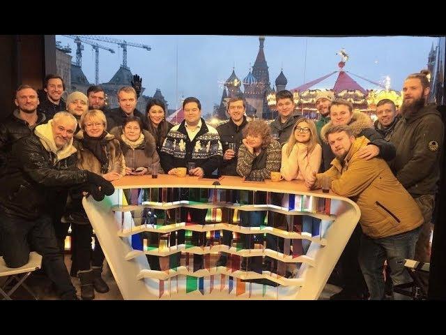 Доброе утро Первый канал на Красной площади встречаем 2018 год работа тв спец техники