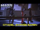 Mass Effect Gameplay Walkthrough - Citadel Expose Saren - Veteran Difficulty