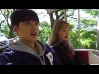 Tour Avatar 2 FB - Kevin and Jimin are your avatars today! Since they are on bike tour, tell them where to go!