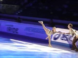 Gran galà: Arina Ushakova e Sergei Karev RUS