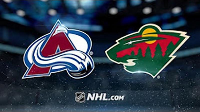 НХЛ регулярный чемпионат Миннесота Уайлд Колорадо Эвеланш 3 2 Б 1 2 1 0 0 0 0 0 1 0