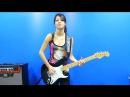 Juliana Vieira - Enter Sandman (Metallica Guitar Cover)