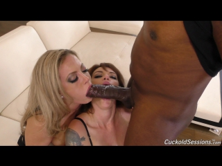 [cuckoldsessions] carmen valentina, gia paloma [hd 1080, big tits, black, blowjob, facial, interracial, mandingo, milf, sex]