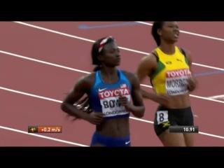 Women's 100m SEMIFINAL 3 World Championships London 2017