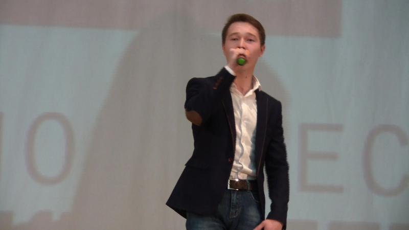 Концерт к 60 летию филологического факультета Евгений Изибаев Клён