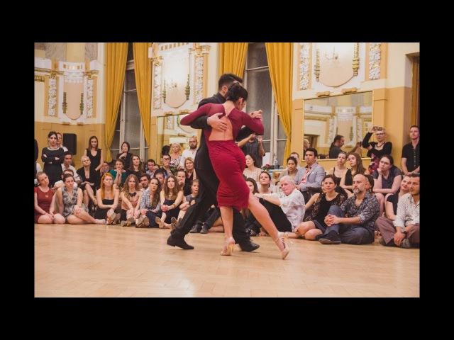 Jonathan Saavedra y Clarisa Aragon @Bratislava Tango Festival 2017 - Juan D'Arienzo - Fibras 2/5