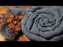 Броши из ткани в стиле Бохо своими руками