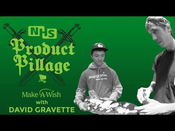 Product Pillage Make A Wish with David Gravette