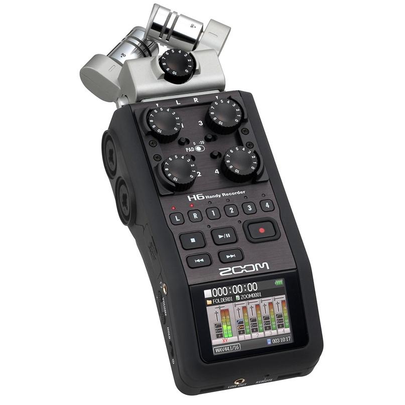 Шестиканальный рекордер Zoom H6