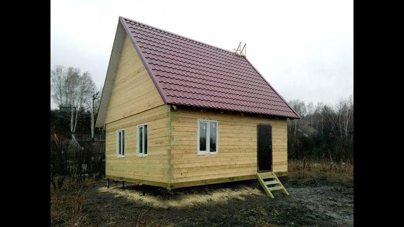 Центральный район, Абагур Лесной, СНТ «Кешево», Строительство дома (6х6м)