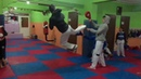 Hava 3 döner tekme Taekwondo 540 kick