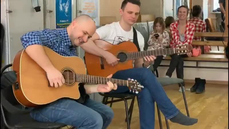Импровизация с Александром Родовским и Михаилом Зайцевым.Оркестр студии Solo Art