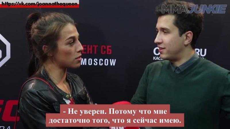 Joanna jedrzejczyk knocks out dmitry zanin