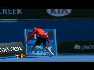 Забавные моменты в теннисе