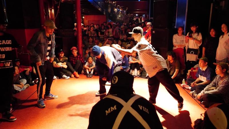 KING CHARLES PRINCE JRON vs LEO IKKI BEST8 HIPHOP WDC 2018 FINAL World Dance Colosseum