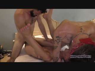 Hung Young Brit - Young sweet Max held hostage by Parted up hot crack head whore