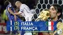 Itália 1 x 1 França (Pênaltis 5-3) Final da Copa do Mundo Alemanha 2006 (GLOBO HD 1080p)