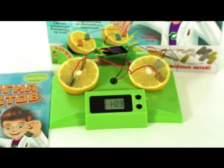 Энергия фруктов - научно-познавательные опыты Науки с Буки BONDIBON