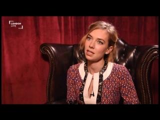 2015 › Интервью каста «Костюмер» для «London Live»