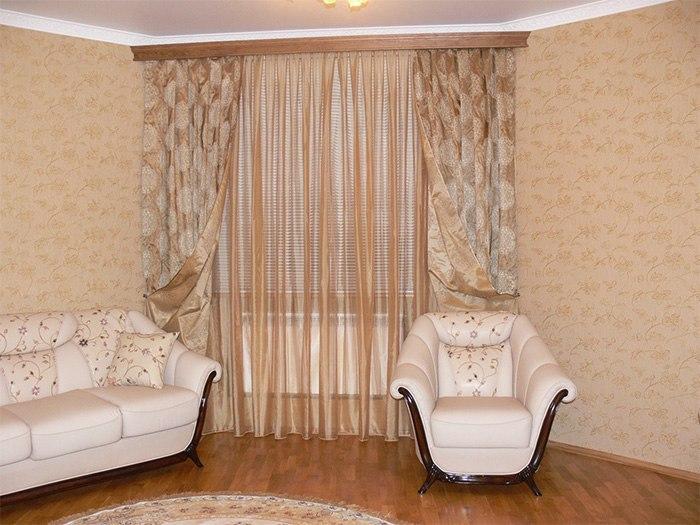 Потолочные шторы в зал — советы и рекомендации по выбору, изображение №21