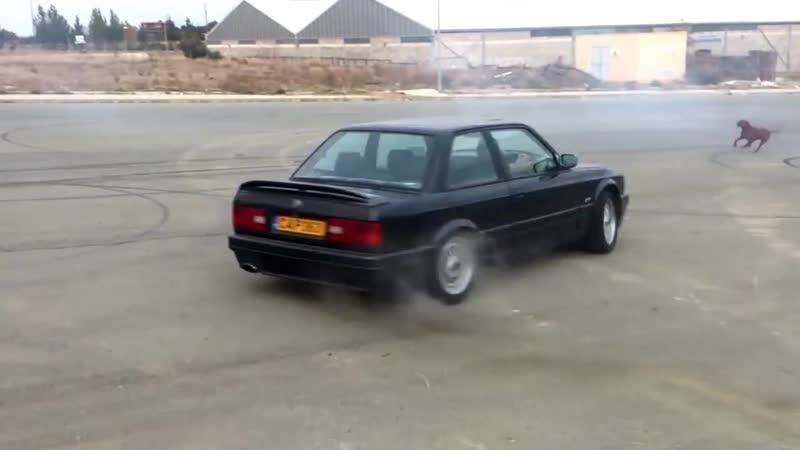 BMW E30 325i DONUTS - DRIFT_HD