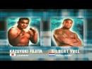 Kazuyuki Fujita vs Gilbert Yvel